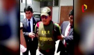 Capturan a narcotraficante peruano buscado a nivel internacional