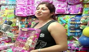 Navidad: novedosos juguetes se ofertan en el Centro de Lima