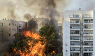 Israel: miles de habitantes obligados a evacuar debido a incendio forestal