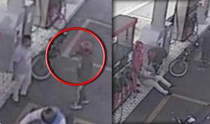 Chancay: cámaras de seguridad captaron asalto en grifo