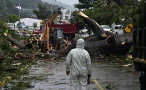 Devastador paso del huracán Otto deja graves daños en Nicaragua