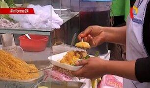 Informe 24: alimentos que se venden en la vía pública contienen decenas de bacterias