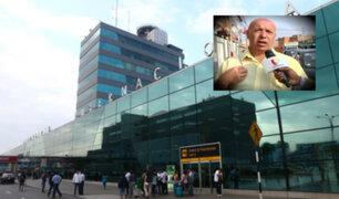 Aeropuerto Jorge Chávez: italiano denuncia maltratos al ser confundido como 'burrier'