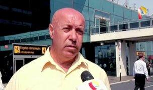 Ciudadano italiano fue confundido con 'burrier' en aeropuerto Jorge Chávez