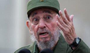 Fallece líder cubano Fidel Castro a los 90 años