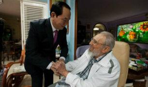 Esta fue la última aparición pública de Fidel Castro