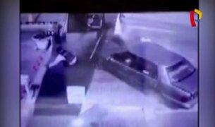 Chorrillos: vigilante queda grave tras ser arrollado por vehículo