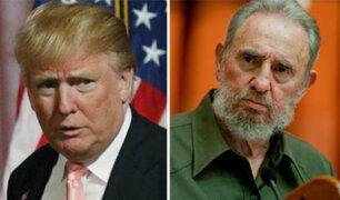 Donald Trump se pronuncia sobre muerte de Fidel Castro