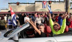 Cubanos en Miami celebraron la muerte de Fidel Castro