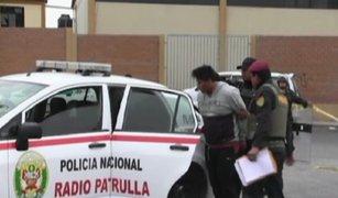 Tacna: capturan a presuntos sicarios tras intensa persecución