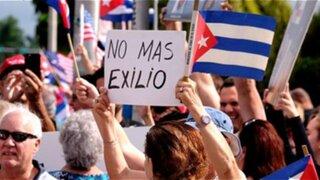 Reacción de cubanos refugiados en Perú tras la muerte de Fidel Castro