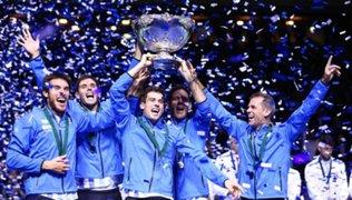 Argentina campeón de la Copa Davis 2016