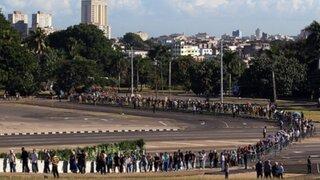 Cuba: rinden tributo a Fidel Castro en histórica Plaza de la Revolución