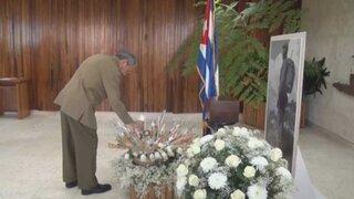 Cuba: muestran urna de cenizas de Fidel Castro