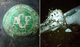 Así quedó el avión de Chapecoense tras estrellarse en Colombia
