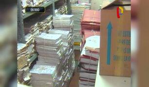 Poder Judicial: más de 5 millones de expedientes almacenados en pésimas condiciones