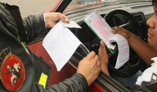 Callao: rebajarán hasta en un 70% en pago de papeletas