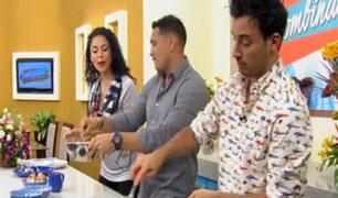 Santi Lesmes vino a Combinado para enseñarnos a preparar una tortilla de patatas a la española