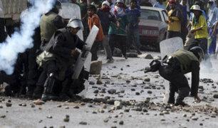 EXCLUSIVO: comuneros intentan tomar comisaría para quemar vivos a abigeos en Huari