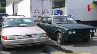 Huaycán: Policía recupera autos robados y detiene a dos sujetos