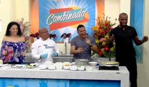 Combinado: 'Cuto' Guadalupe apareció bailando en segmento de cocina