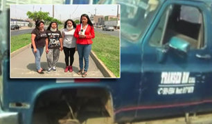 San Martín de Porres: otras dos adolescentes también fueron impactadas por llanta