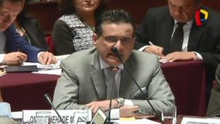 Nadine Heredia: Omar Chehade se presentó ante comisión de Fiscalización