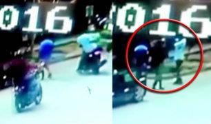 Puerto Maldonado: cámaras captan asalto a hombre que retiró dinero de banco