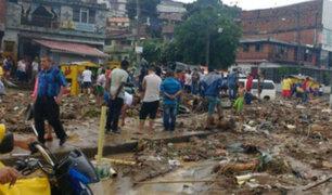Al menos seis muertos y tres heridos tras derrumbe en Colombia