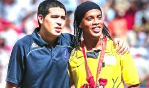 Juan Román Riqueleme y Ronaldinho llegarían al Chapecoense