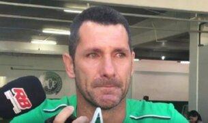 Nivaldo, arquero del Chapecoense anunció entre lágrimas su retiro del fútbol
