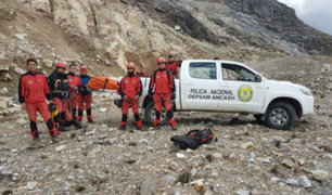 Áncash: alpinista alemán fue hallado muerto en nevado Mateo