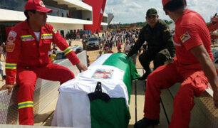 Restos de tripulantes del avión Lamia llegaron a Bolivia