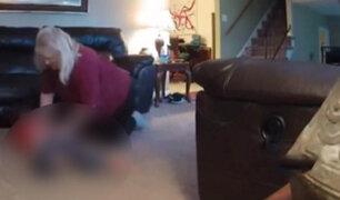 VIDEO: captan a niñera golpeando a menor con síndrome de Down