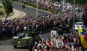 Cuba: el último recorrido de las cenizas de Fidel Castro