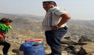 Viviendo sin agua: 'Clavito y su chela' lo vive en carne propia
