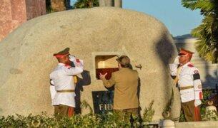 Así fue el entierro de Fidel Castro en Santiago de Cuba
