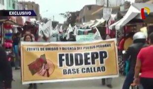 Fudepp, la nueva fachada del Movadef se suma a protestas para captar adeptos