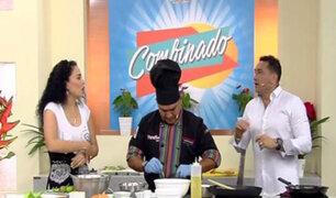 Combinado: El chef Óscar Gamarra nos enseña a preparar un ceviche 'mar y fuego'