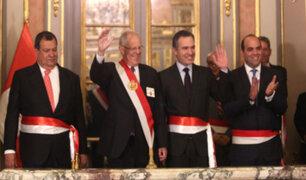 Jorge Nieto juró como nuevo ministro de Defensa y Salvador del Solar lo reemplaza en Cultura