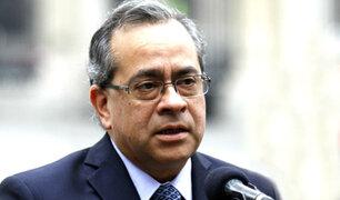 Continúa polémica por 'cuestión de confianza' a ministro Jaime Saavedra