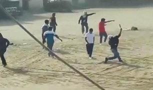 Lambayeque: violento enfrentamiento entre dos bandos de construcción civil