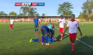 VIDEO: jugador sufre paro cardíaco luego de anotar gol y muere