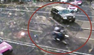 FOTOS: mujer despechada atropella y mata con su auto a expareja