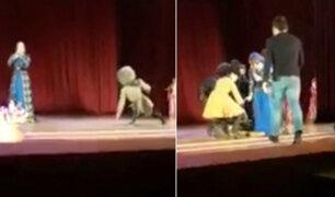 YouTube: bailarín murió en el escenario y público pensó que era parte de la obra