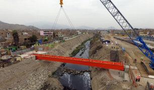 'Bella Unión': instalan nuevo puente peatonal