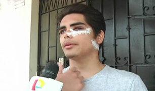 Desfiguran a joven que se resistió a asalto en Independencia