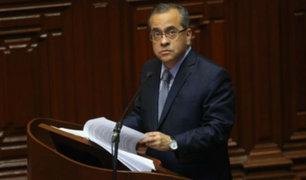 Ministro Jaime Saavedra fue interpelado en el Congreso de la República