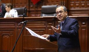 Congreso: censuran al ministro Jaime Saavedra con 78 votos a favor
