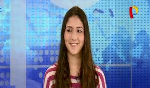 Ganó millonaria beca: Antonella cuenta su experiencia tras triunfar en concurso mundial de ciencias